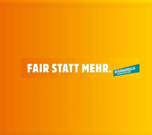 """Rückblick Faire Woche 2020:           """"Fair statt mehr"""""""