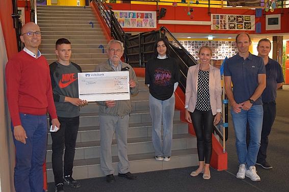 Spendenaktion der Realschule Tiengen für Tablada