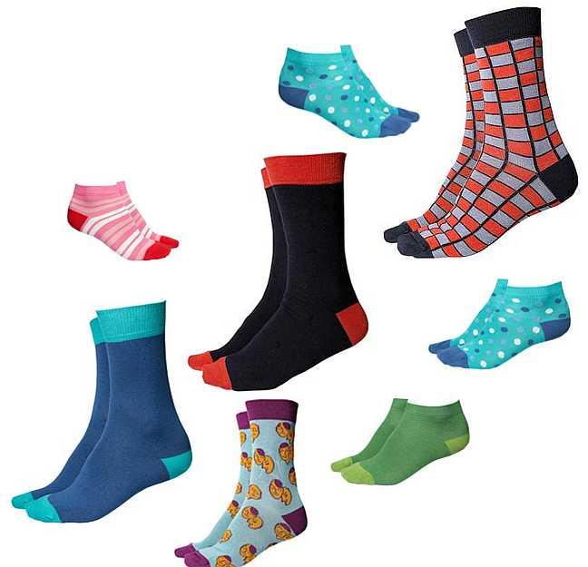 Socken und Sneaker-Söckchen aus dem Fairen Handel = Faire Socken!